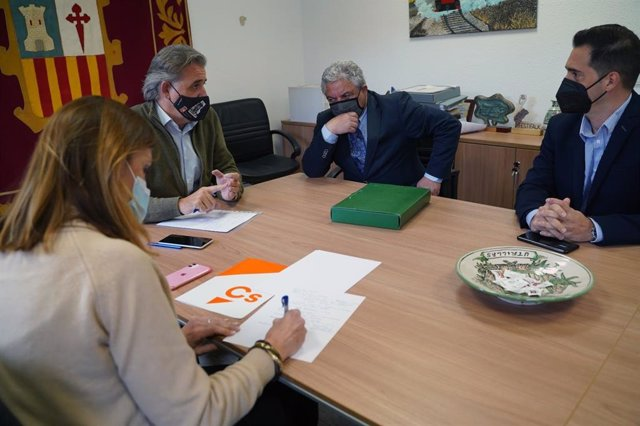 """Ciudadanos exige al Gobierno de Aragón """"una apuesta decidida"""" por el polígono industrial de Utrillas."""