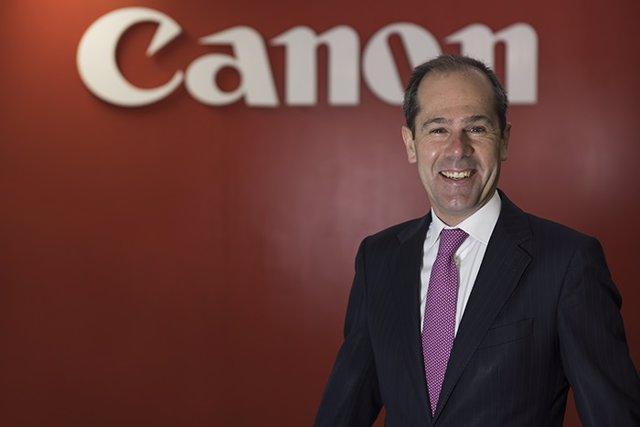 Javier Tabernero, consejero delegado de Canon en España y Portugal