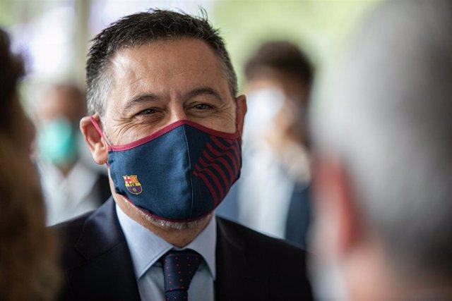 Archivo - El president del Futbol Club Barcelona, Josep María Bartomeu.