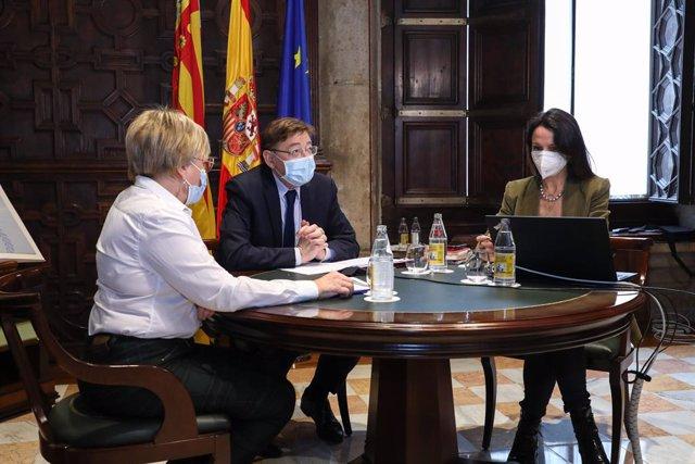 Puig presideix aquest dilluns la reunió de creació del Programa Valencià d'Investigació Vacunal COVID-19