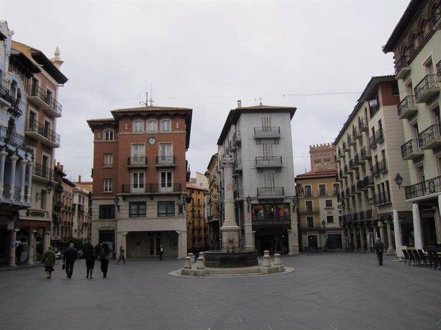 Archivo - Sanidad desconfina Teruel y amplía los confinamientos autonómico y provincial hasta el 19 de marzo.