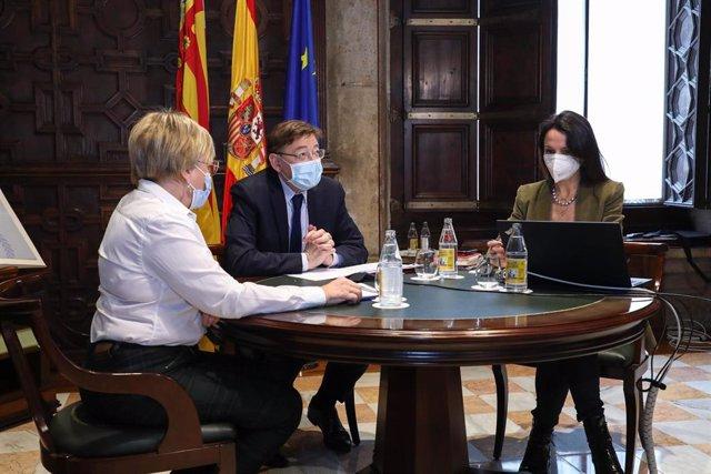 Puig preside este lunes la reunión de creación del Programa Valenciano de Investigación Vacunal COVID-19