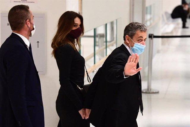 Archivo - Nicolas Sarkozy