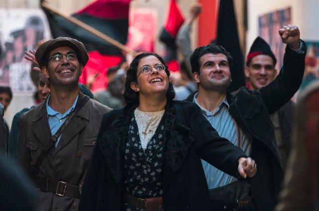 El filme sobre Frederica Montseny se estrenará simultáneamente en À Punt, TV3 e IB3