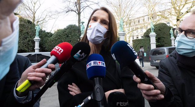Archivo - La ministra de Exteriores de Bélgica, Sophie Wilmes.