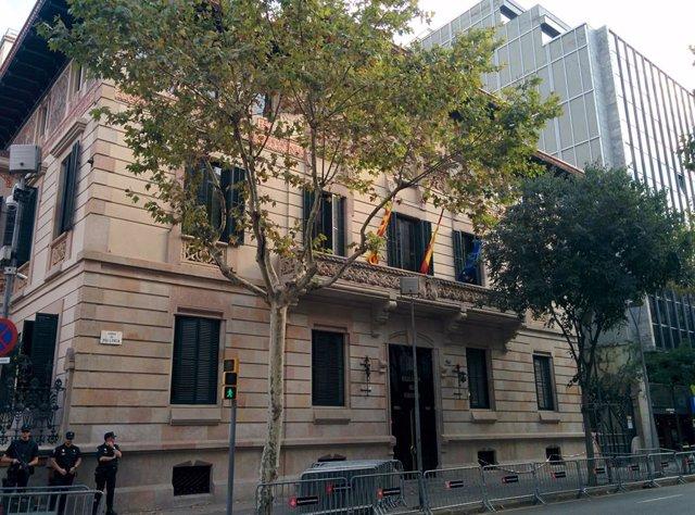 Archivo - Arxiu - Façana de la Delegació del Govern a Catalunya
