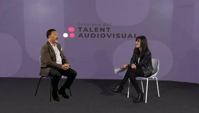 Archivo - Arxiu - El director de l'ISE, Mike Blackman, en una entrevista en 'la Setmana del Talent Audiovisual'
