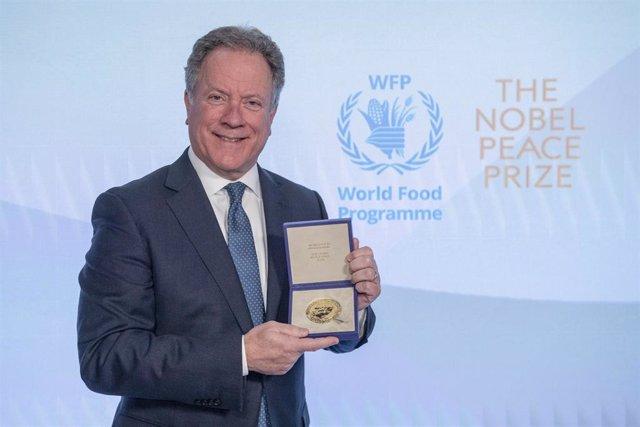 Entrega del premio Nobel de la Paz al PMA