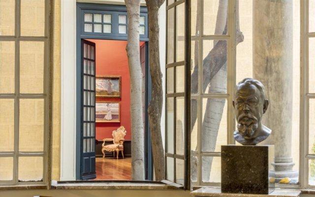 La exposición 'Poéticas de una casa' refleja la mirada del fotógrafo Lluís Casals hacia la casa Sorolla