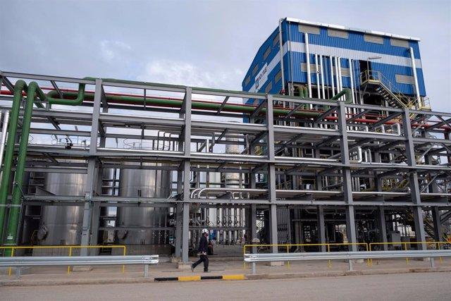 L'empresa química Iqoxe, a la Canonja (Tarragona)