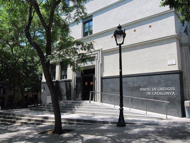 Archivo - Sede del Síndic de Greuges (Archivo)