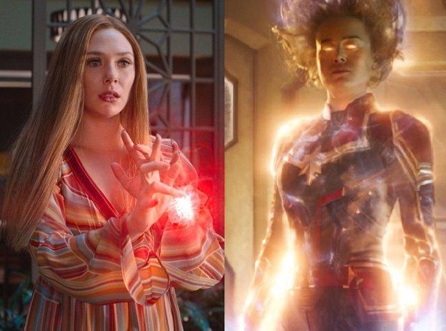 Brie Larson: Capitana Marvel es más fuerte que Bruja Escarlata