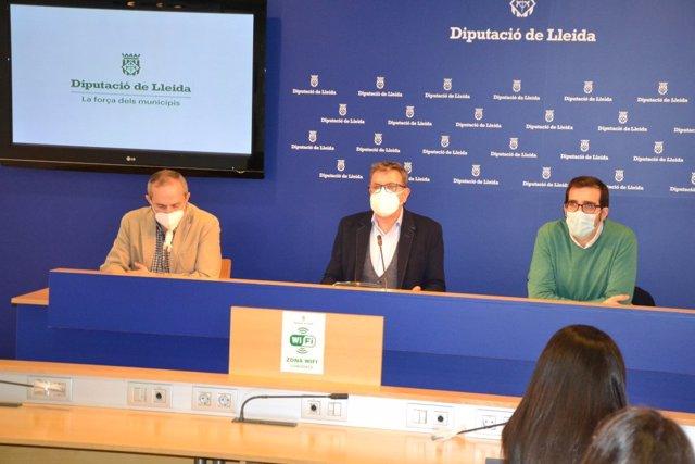 Albert Bajona, Joan Talarn y Oriol Yuguero.