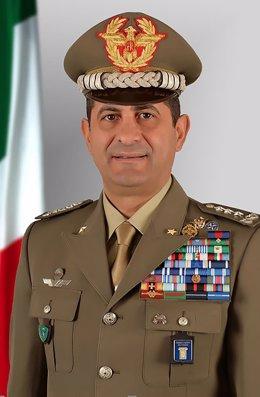 El nuevo comisario encargado de la gestión de la pandemia en Italia, el general Francesco Paolo Figliuolo.