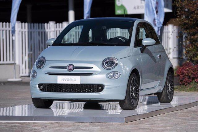 Archivo - Nuevo Fiat 500.
