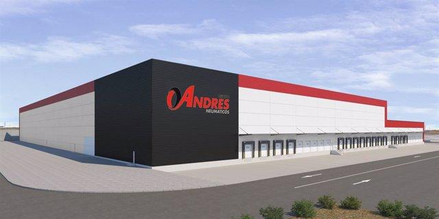 Grupo Andrés ha iniciado la construcción de su nueva Sede Central con más de 25.000 m2 de almacén y 3.000 m2 de oficinas