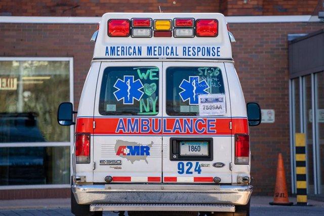 Una ambulancia en Estados Unidos