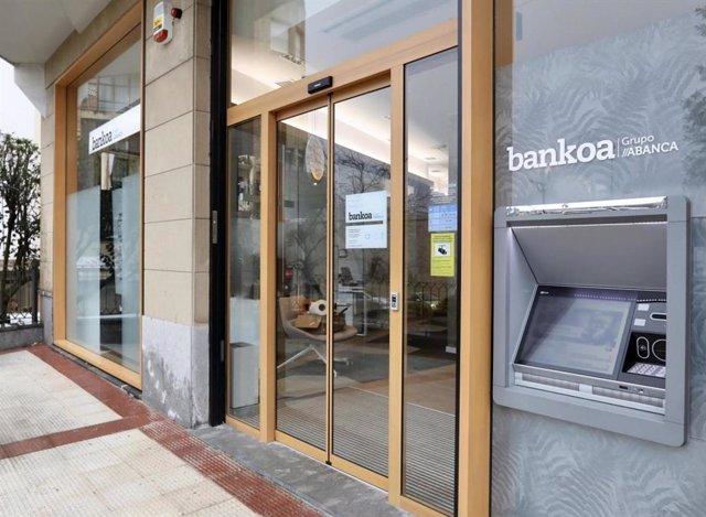 Oficina de Bankoa-Grupo ABANCA en Hernani.