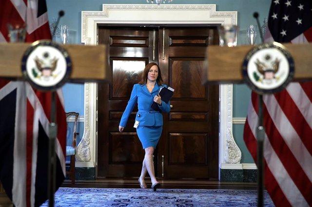 Archivo - Jen Psaki, portavoz de la Casa Blanca