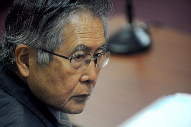 Archivo - El expresidente peruano Alberto Fujimori