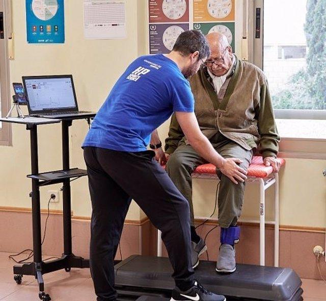 Mikel Izquierdo durante un entrenamiento.