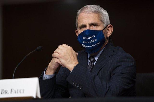Archivo - Arxivo - El director de l'Institut Nacional d'Al·lèrgies i Malalties Infeccioses dels Estats Units, Anthony Fauci.