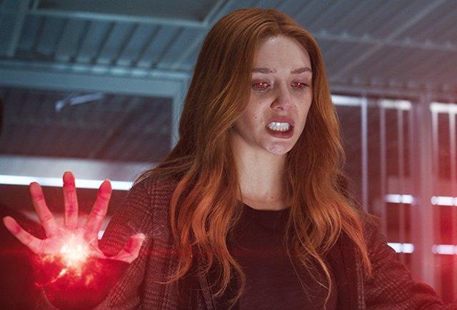 Elizabeth Olsen es Wanda Maximoff en WandaVision (Bruja Escarlata y Visión)