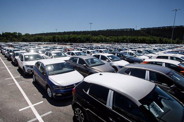 Archivo - Campa de expediciones de Volkswagen Navarra