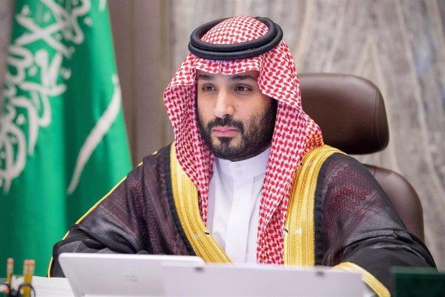 Archivo - El príncipe heredero de Arabia Saudí, Mohamed bin Salmán
