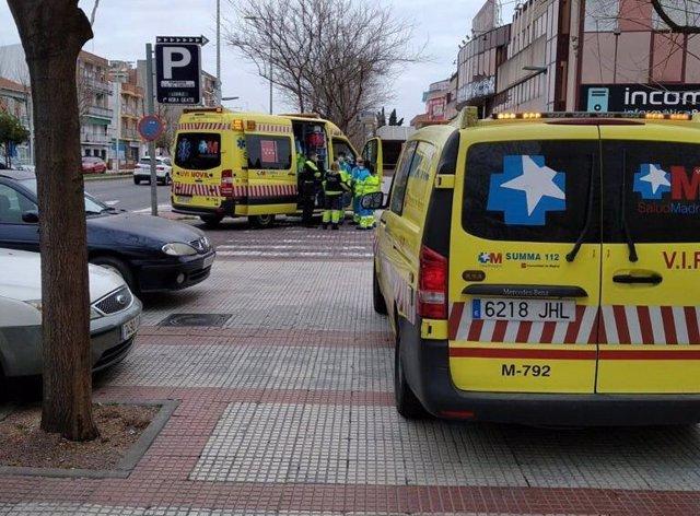 Ambulancias del SUMMA112