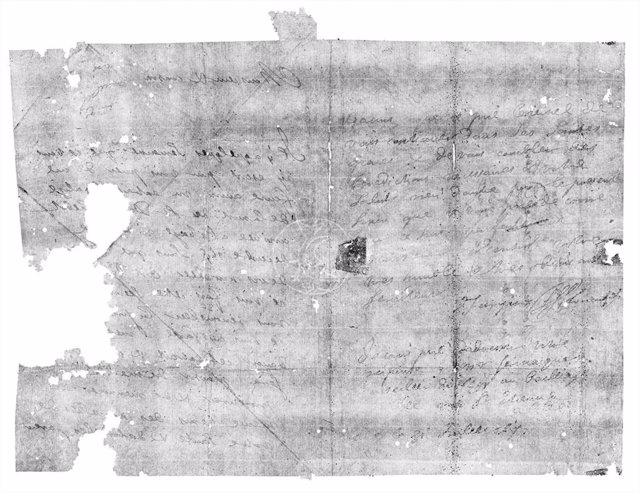 Letterpacket DB-1627 fue virtualmente desplegado y leído por primera vez desde que fue escrito hace 300 años.