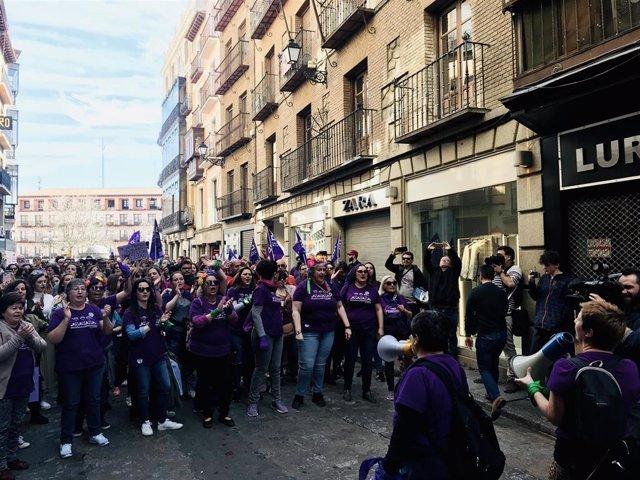 Archivo - Manifestación 8M en Toledo