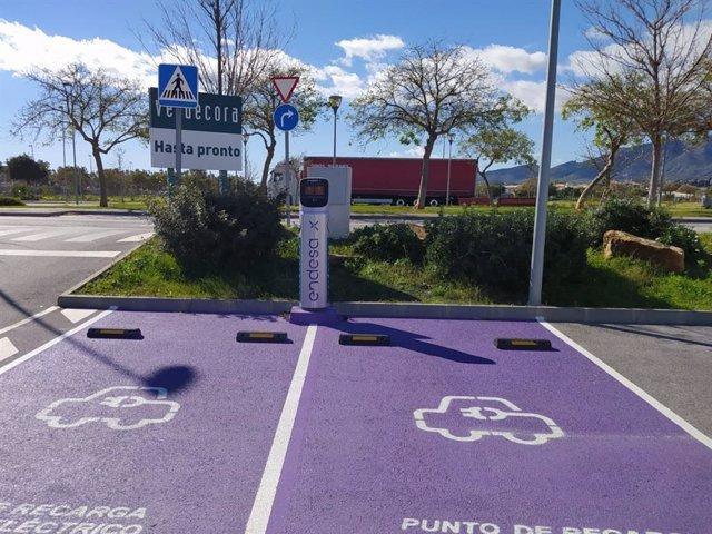 Endesa X instala puntos de recarga en centros de Verdecora