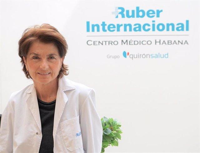 Endocrina del Ruber Internacional Centro Médico Habana y secretaria General de la Sociedad Española para el Estudio de la Obesidad (SEEDO), Susana Monereo