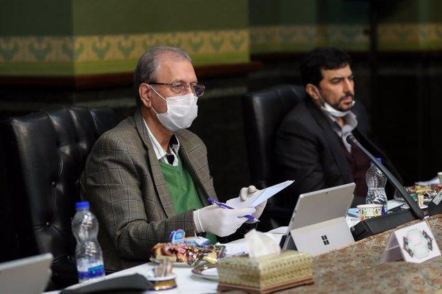 Archivo - El portavoz del Gobierno iraní, Alí Rabiei