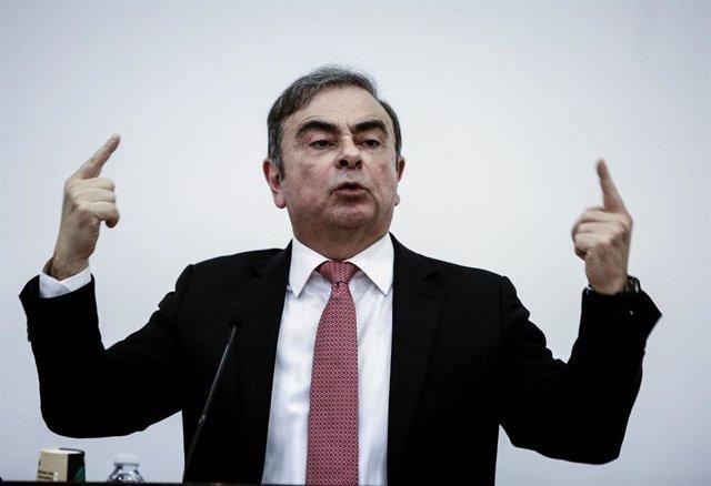 Archivo - El expresidente de Nissan Carlos Ghosn.