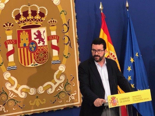 Archivo - El secretario de Estado de Empleo, Joaquín Pérez Rey