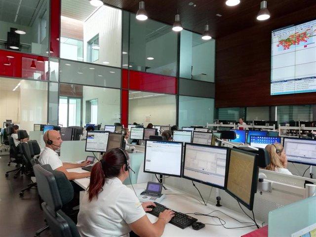Archivo - Centro de Coordinación de Emergencias del 112