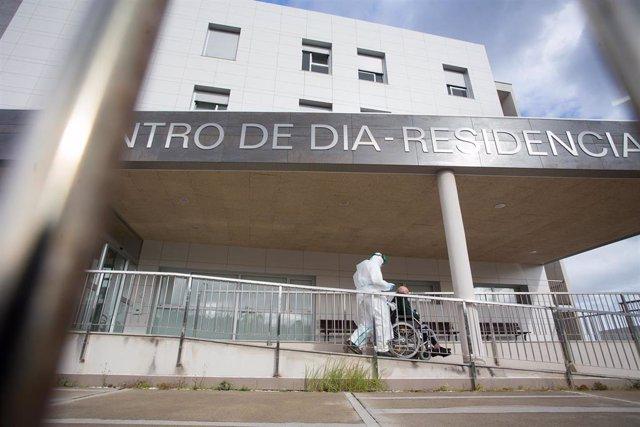 Archivo - Residencia de ancianos de San Cibrao (Lugo) .