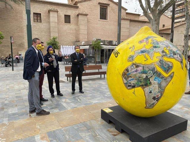 Presentación de la exposición de arte urbano 'Lemon Art'