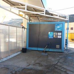 Estación de servicio San Blas de Brea de Aragón.