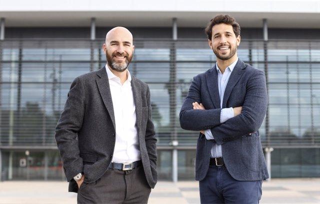 Carles Castilla, CEO Grupo Castilla y Hugo Olaizola, CEO de Wagestream España