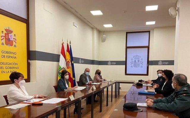 I reunión para mejorar la coordinación contra la siniestralidad laboral