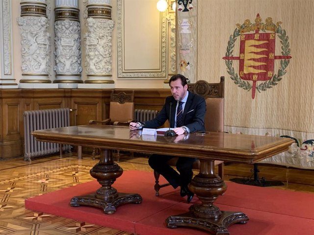 El alcalde de Valladolid, el socialista Óscar Puente.