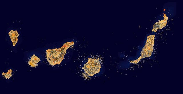 Canarias actualiza el mapa de Grafcan sobre especies protegidas