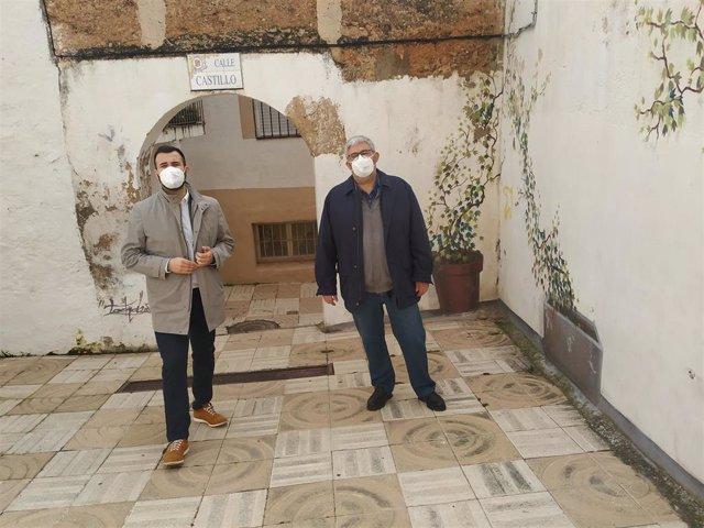 Comienzan las obras para recuperar la calle Castillo de Cáceres