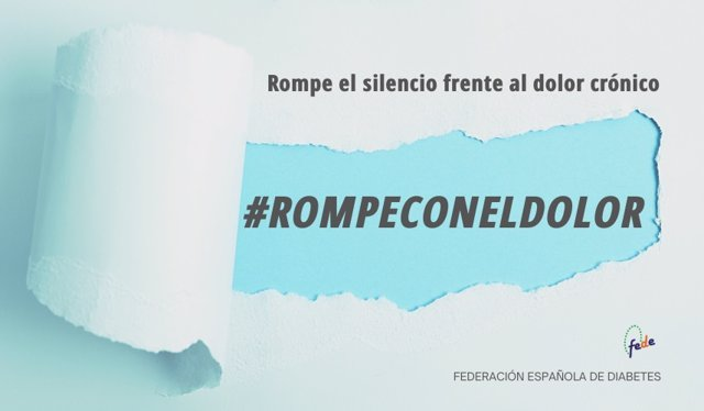 La Federación Española de Diabetes lanza una campaña para acabar con el estigma en torno al dolor