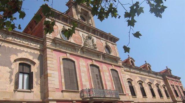 Archivo - Fachada del Parlament de Catalunya