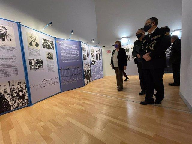 Inauguracion a València de l'exposició 'El vot femení a Espanya'