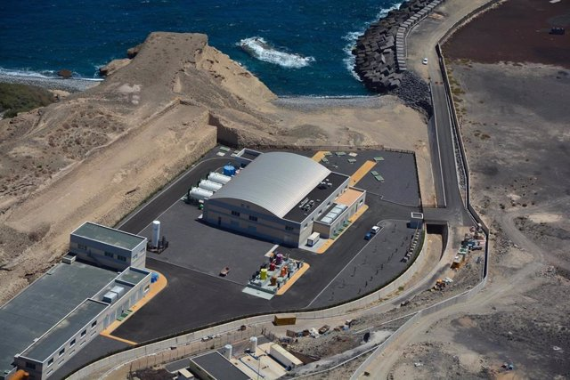 Desaladora en Canarias